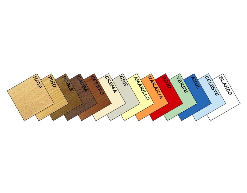 mobiliario escuelas infantiles colores de termolaminados