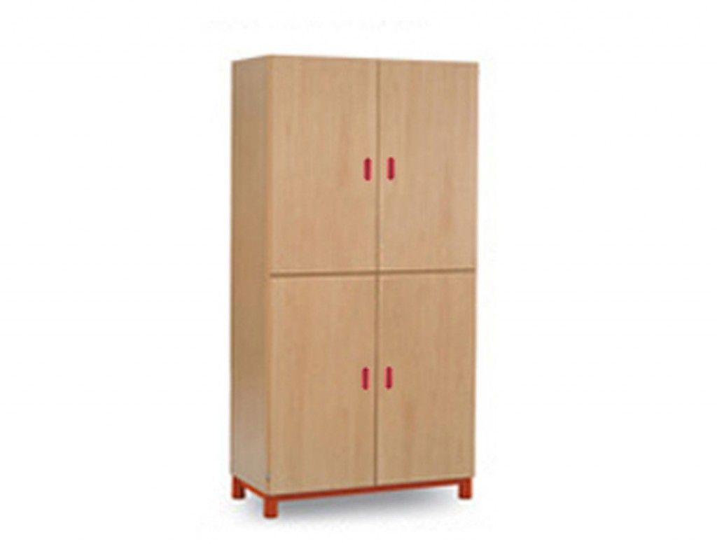 Mobiliario Escuelas Infantiles Armario cuatro puertas